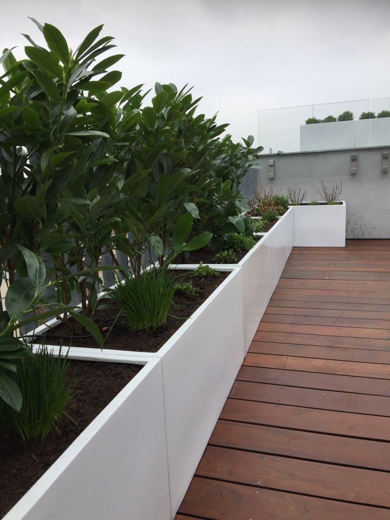 Dachterrasse von Garten Leopold