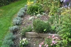 Bunter Blumengarten